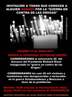 Invitation to Mexico City Vigil June 17th, 2011